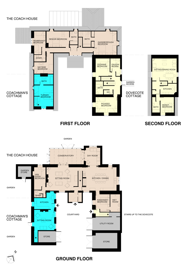 Coach house floor plans escortsea for Coach house plans