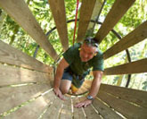 Safe climbing fun at Go Ape
